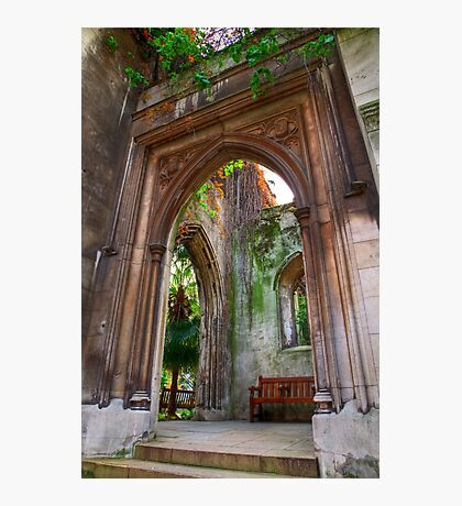 St Dunstan in the East - London Photographic Print