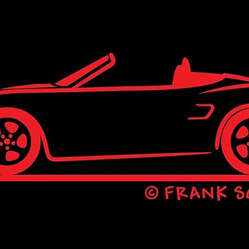 Porsche Boxster S 986 Red by azoid