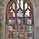 The Windowless Window - St Dunstan in the East - London by Bryan Freeman