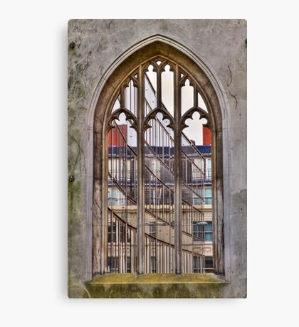 The Windowless Window - St Dunstan in the East - London Canvas Print