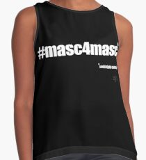 #masc4masc white text - Kylie Contrast Tank