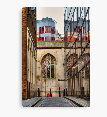St Dunstan's Hill - London Canvas Print