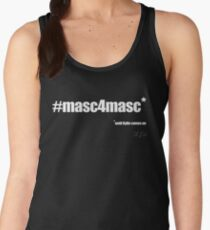 #masc4masc white text - Kylie Women's Tank Top