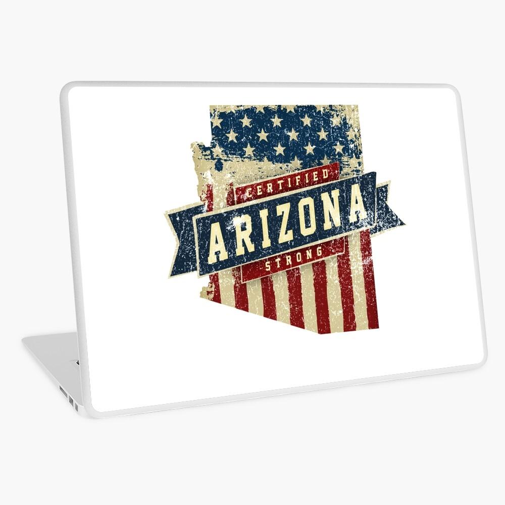 Arizona Starke USA Flag State Home Certified Großes Geschenk Awesome Stolze Fans Laptop Folie