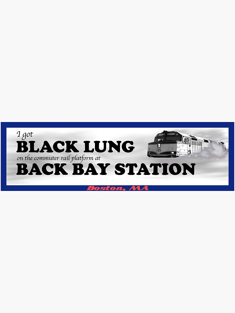 I Got Black Lung at Back Bay by woollmerch