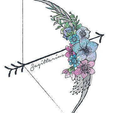 Sagittarius Arrow by meghanmarie