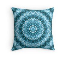 light blue kaleidoscope mandala auf Redbubble von pASob-dESIGN