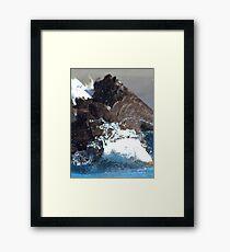 Manwe Goes Fishing Framed Print