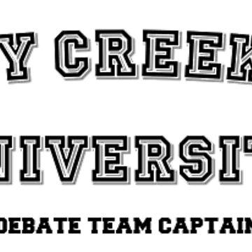 Shady Creek Run Debate Team Captain by MorganaRed