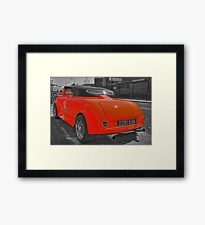 Chop-Top, Lo-Ride Mini Mini - Camden Town - London Framed Print
