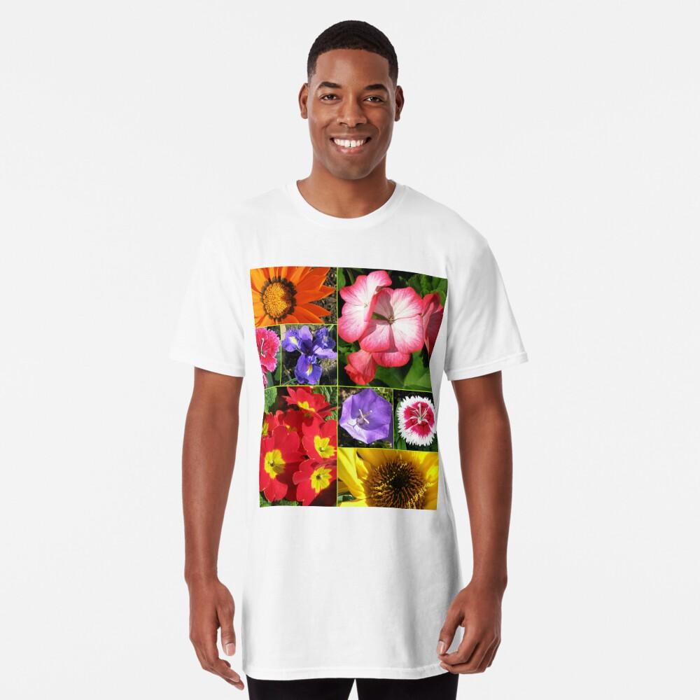 Sunkissed Blumen-Collage Longshirt