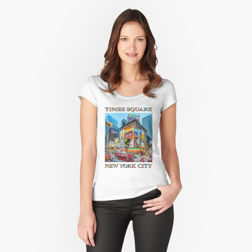 Times Square III Special Finale Edition poster Fitted Scoop T-Shirt