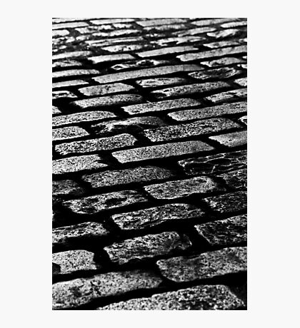 Cobbled Together - Covent Garden - London Photographic Print