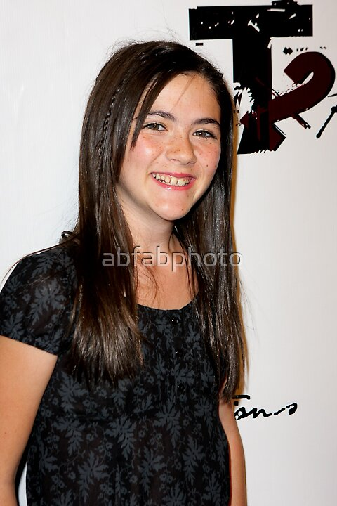 Isabelle Fuhrman by abfabphoto