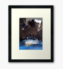 Manwes Eagle Dunk Framed Print