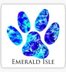 Salty Paw (Emerald Isle) Sticker