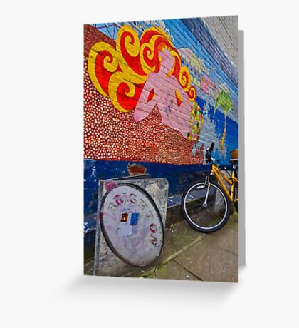 Brighton By Bike - England Greeting Card