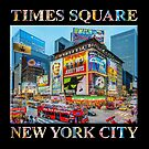 Times Square III Special Finale Edition (with type on black) by Ray Warren