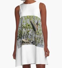 Australian Spotted Crake A-Line Dress