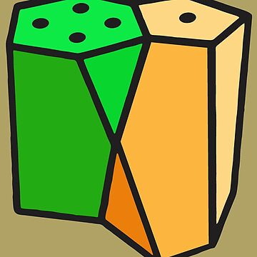 SCUTOID Salt & Pepper by dennis-gaylor