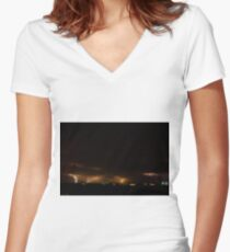 Intensity Women's Fitted V-Neck T-Shirt