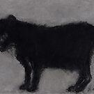 The Old Black Cat (pastel) by Niki Hilsabeck
