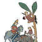 German Medieval hunting scene by edsimoneit