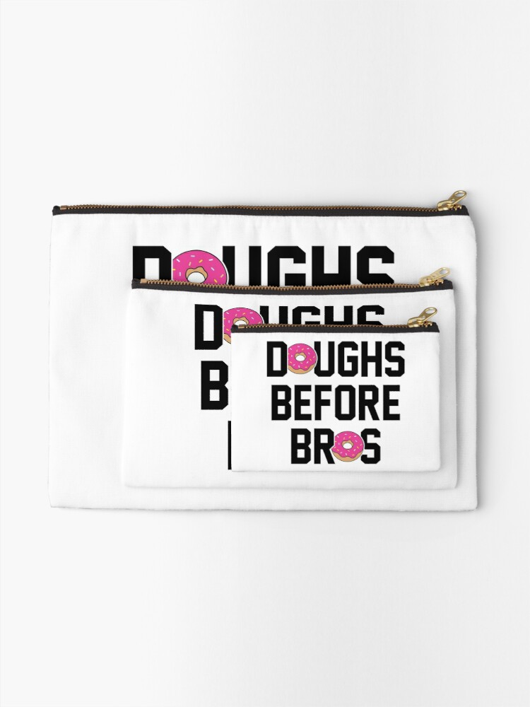 Alternate view of Doughs before bros Zipper Pouch