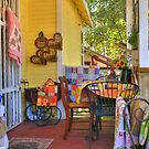 The Quilt Shop Store Front by K D Graves Photography