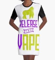 Release The Vape - Vape Vaping Gift Shirt Tee Graphic T-Shirt Dress