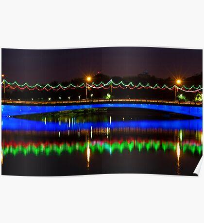 Single Arch - Ferdowsi Bridge - Esfahan - Iran Poster