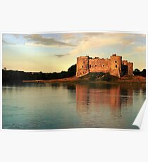 Carew Sunset Poster