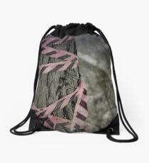 The Pink Tape Drawstring Bag