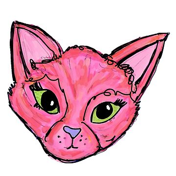 Pink Cat by kassidycoleman