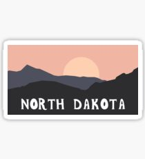 North Dakota Outdoors Sticker