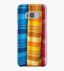 Pashminas or  Scarves - Camden Markets - London Samsung Galaxy Case/Skin