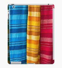 Pashminas or  Scarves - Camden Markets - London iPad Case/Skin