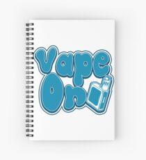 Vape On - Vape Vaping Gift Shirt Tee Spiral Notebook