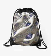 Dark Spore 4 - White Drawstring Bag