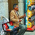 Chinatown Street Musician 1 by Tamara Valjean