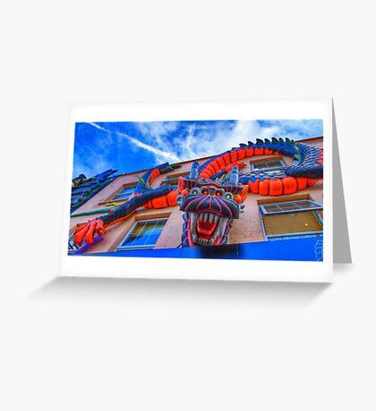 Dragonula - Camden Markets - London Greeting Card