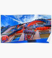 Dragonula - Camden Markets - London Poster