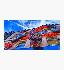 Dragonula - Camden Markets - London Photographic Print