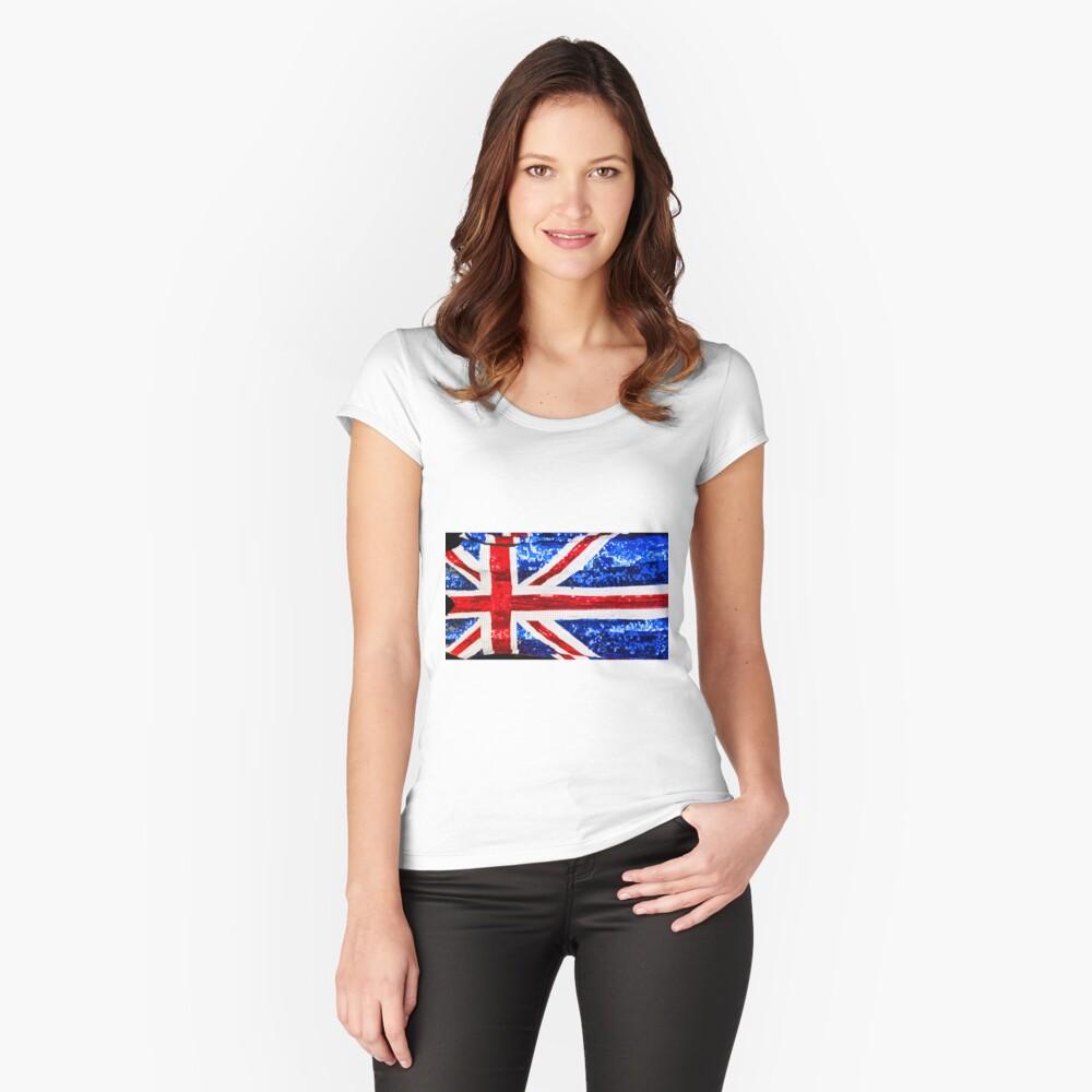 Jack Glitters - Camden Markets - London Women's Fitted Scoop T-Shirt Front