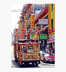 Chinatown Streetcar Photographic Print
