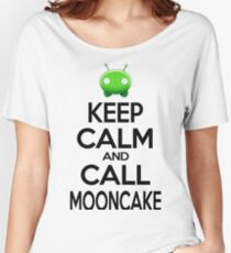 MoonCake FinalSpace Draw Keep Calm Women's Relaxed Fit T-Shirt