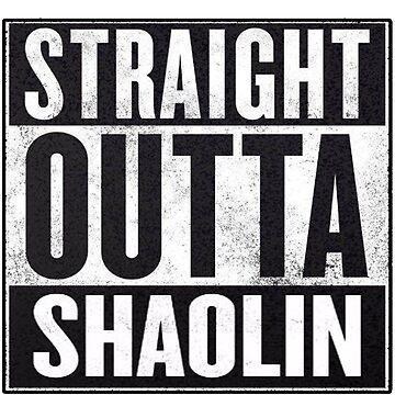 """straight outta Shaolin """"Staten Island"""" by MynameisJEFF"""
