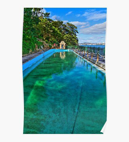 MacCallum Pool - Cremorne Point - Sydney - Australia Poster