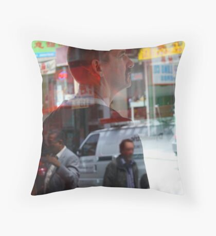 Reflecting on Tom Throw Pillow