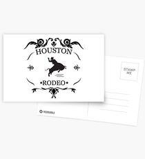 Houston Livestock Show Rodeo Postcards